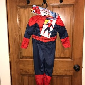 Spider-Man costume,size 3-4t